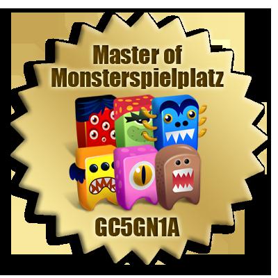 Monsterspielplatz Bonus Badge